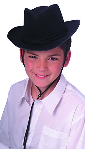 Rubie's Costume Child's Dura-Shape Deluxe Black Cowboy Hat