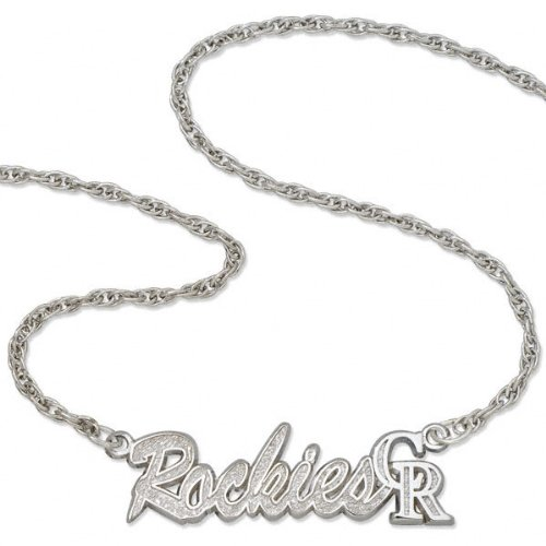 Colorado Rockies Script Necklace