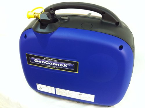 Genconnex Custom Yamaha Ef2000Is Propane Powered Generator (Great For Camping! Connects To Standard Propane Tank) - Not For Sale In Ca