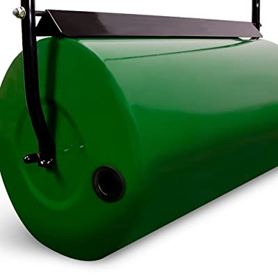 Lawn Roller Garden - Large 60kg Heavy Duty 60cm Working Width Water or Sand filled Grass Garden Roller