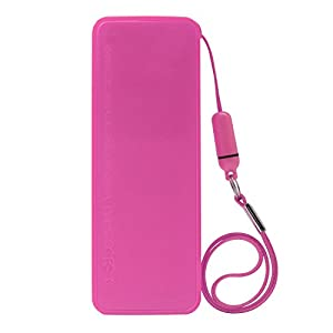iProtect 5600mAh Power Bank Externer Akku Pack und Ladegerät in rosa für Smartphones und andere USB-Geräte inkl. Micro USB Kabel, Apple iPhone Kabel und Handschlaufe from iProtect