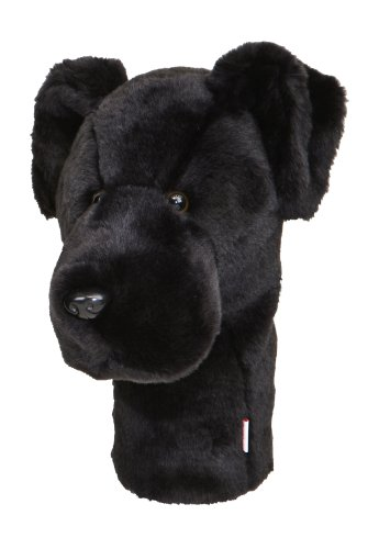 Daphne's Black Lab Headcovers (Golf Club Covers Animals compare prices)