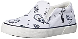 Polo Ralph Lauren Kids Bal Harbour Fashion Sneaker (Toddler/Little Kid), White Bandana, 7 M US Toddler