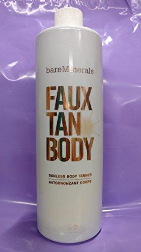 bareMinerals Deluxe 16oz FAUX TAN BODY Sunless Body Tanner Tanning Liquid (Bare Escentuals Faux Tan Brush compare prices)