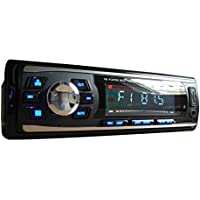 SoundBoss SB-16 Car FM USB Player with Multi Colour Display Fixed Panel