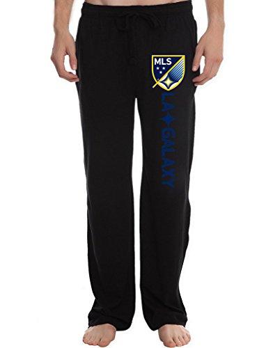 rbst-mens-los-angeles-galaxy-mls-logo-running-workout-sweatpants-pants-m-black