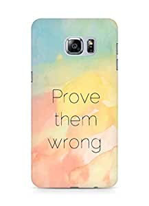 AMEZ prove them wrong Back Cover For Samsung Galaxy S6 Edge Plus