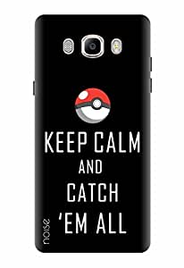 Noise Designer Printed Case / Cover for Samsung Galaxy On8 / Quotes/Messages / Keep Calm Pokemon Design