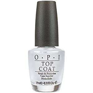 OPI Nail Polish, Top Coat, 0.5-Ounce