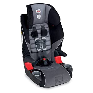 Britax car seat with booster seat