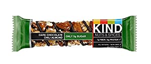 KIND Nuts & Spices, Dark Chocolate Chili Almond, 24 Bars by KIND