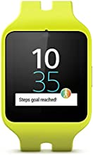 Sony Mobile SWR50 SmartWatch 3 Montre Fitness et Tracker d'Activité Compatible avec Android 4.3+ Smartphones - Vert Citron