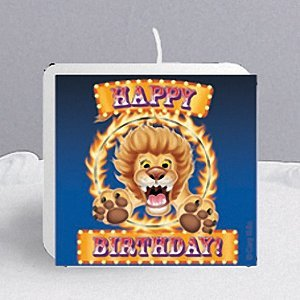Creative Converting Big Top Birthday Candle