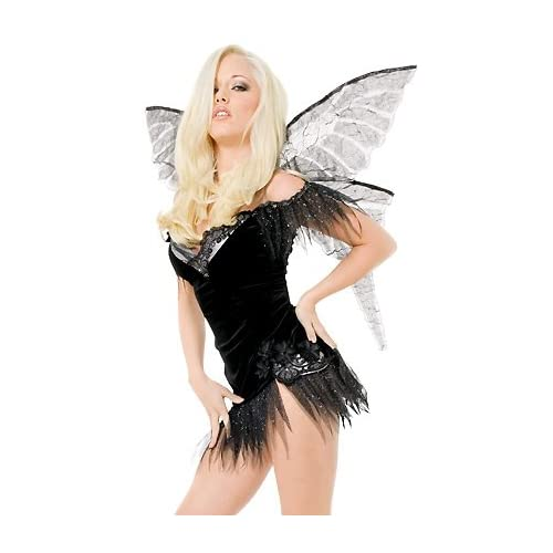 Halloween Costumes : Playboy Wicked Fairy - Sexy Adult Fairy Costumes Lingerie Outfit