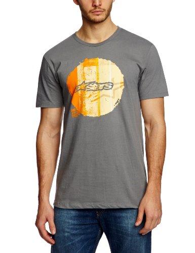 Alpinestars Copy Dot Slogan Men's T-Shirt Graphite Medium