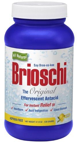 Brioschi Original All Natural Effervescent Antacid