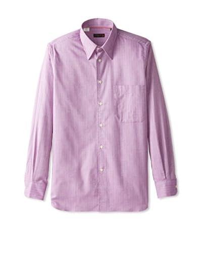 Corneliani Men's Herringbone Sport Shirt