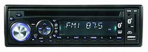 Autoradio Waikiki RDS, 4x40W, CD, USB, SD-Cardslot