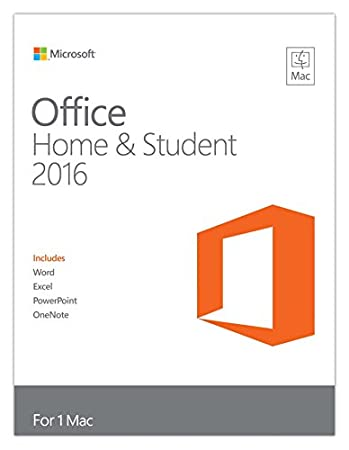 Microsoft Office Mac Home and Student 2016 (Mac)