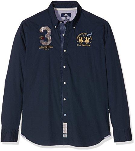 la-martina-herren-freizeithemd-man-shirt-l-s-poplin-stretch-blau-navy-7017-47-herstellergrosse-3xl
