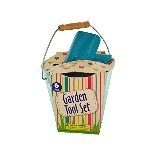 Kole garden tool set in bucket for Gardening tools wholesale