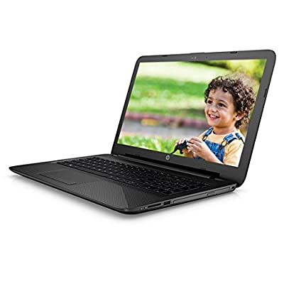 HP 15-ac173TU 15.6-inch Laptop (pentium_3825u/4GB/1TB/Intel HD Graphics), Jack Black Colour with Textured Diamond...