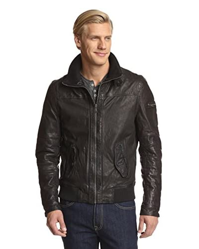 Rogue Men's Jacket with Knit Detail On Collar
