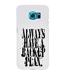 Ebby Premium Printed Mobile Back Case Cover With Full protection For Samsung Galaxy S6/Samsung Galaxy S6 G920 (Designer Case)