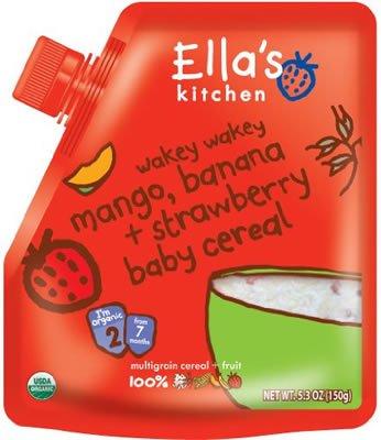Ella'S Kitchen Banana Mango Strawberry Cereal (4X5.3Oz)