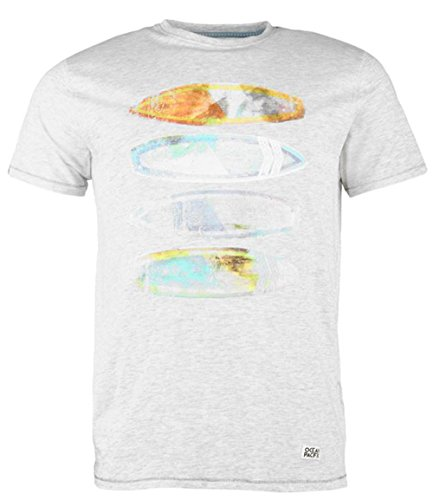mens-casual-applique-front-print-t-shirt-top-large-oatmeal