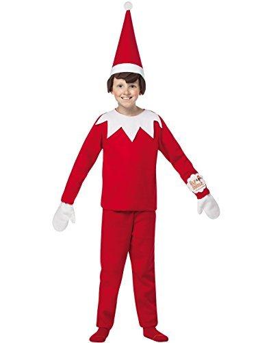 [Rasta Imposta 7-10 Elf On A Shelf Costume by Rasta Imposta] (Elf On Shelf Costumes)