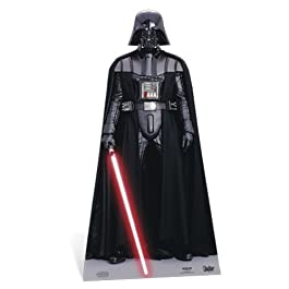 Star Wars - Lifesize Cut-Out Darth Vader (in 195 cm)