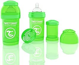 Twistshake Anti-Colic Shaker (180 ml/6 oz, Green)