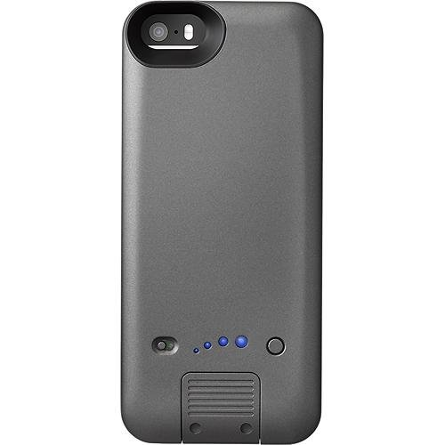 Platinum - External Battery Case for Apple Iphone 5/5s - Gray (Platinum Iphone 5 Case compare prices)