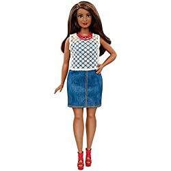 Barbie Fashionistas Dolled Up Denim Doll