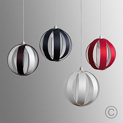 MiniSun-Paralume-sferico-e-moderno-in-tessuto-per-lampada-a-sospensione