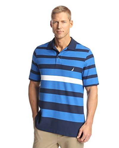 Nautica Big & Tall Men's Striped Polo