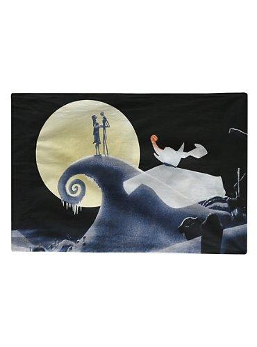 The Nightmare Before Christmas Jack Sally And Zero Pillowcase 20th Anniversary - 1