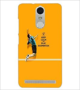 PrintDhaba Quote D-5951 Back Case Cover for LENOVO K5 NOTE (Multi-Coloured)