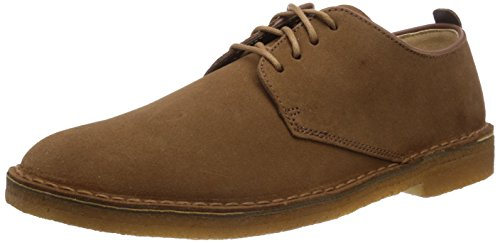 Clarks Originals - Desert London, Scarpe con lacci Derby da uomo, marron (cola suede), 43