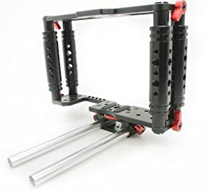 Kamerar Tank TK-2 cage with Rods support DSLR Camera Cage Kit 4 Canon5D 6D 7D