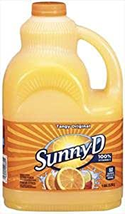 Amazon.com : Sunny Delight Beverage, Florida Style, 128 Ounce (Pack of 4) : Fruit Juices ...