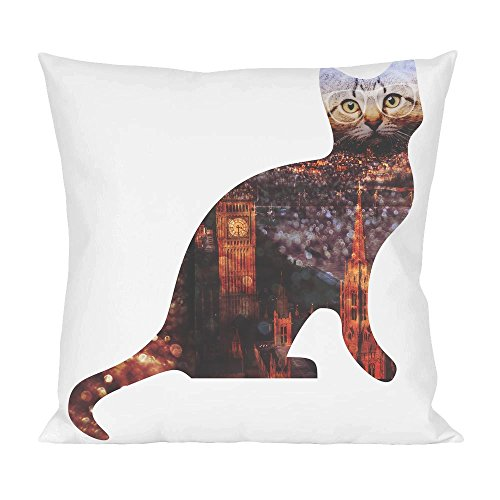 london-cityscape-hipster-cat-pillow