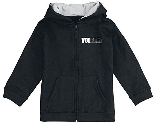 Volbeat Anchor Giacca con cappuccio - bimbo nero 104