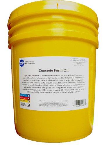 CSP Concrete Form Oil - 5-Gallon Pail