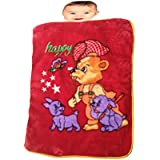 Baby Blanket - Red Baby Blanket - Buy Mink Baby Blanket Online - Soft Baby Blanket - Baby Winter Blanket For Boys...