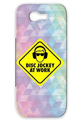 Cd Discjockey Party Loud Dance Electronica Scrathing Headphone Vinyl Technics Mixer Beats Mixing Disc Jockey Turntables Bpm Dj Records Sign Cool Music Rave Club Scratch Caution Disco Clubber Yellow Scratch-Resistant Disc At Work For Sumsang Galaxy Note 2