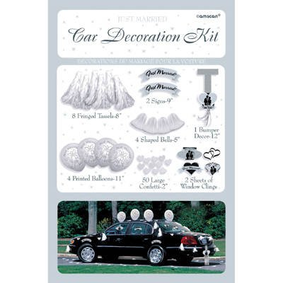 Car decorations archives r design party wedding car decoration kit junglespirit Gallery