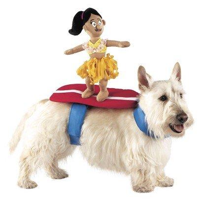 Surfer Rider Pet Dog Funny Costume - Small - Medium (Funny Pet Costume)