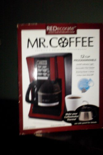 Mr. Coffee 12 Cup Programmable Modern Design withg Chrome Front Coffeemaker (072179231981)